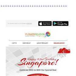 [Floweradvisor] Discount Up To 53%. Grab It Fast While It Last!