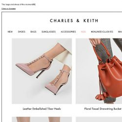 [Charles & Keith] This week's must-haves