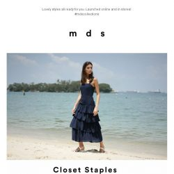 [MDS] Closet Staples | Launched Online and In-Stores