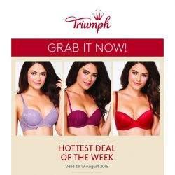 [Triumph] $19.90 Bras Up For Grabs!