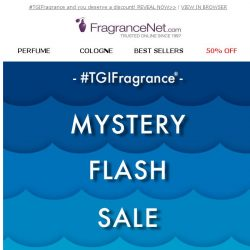 [FragranceNet] Mystery Coupon - activate now!