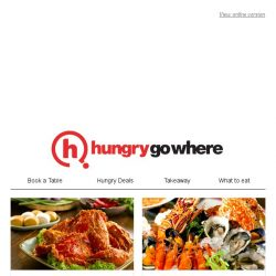 [HungryGoWhere] Book early this Hari Raya Haji with Halal deals like 15% off buffet and a la carte menu, crab feast lunch buffet at $66++, and more.
