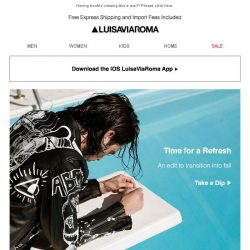 [LUISAVIAROMA] Dip In: A New Edit for Fall