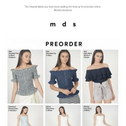 [MDS] The New Drop | Preorder Now