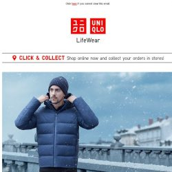 [UNIQLO Singapore] Start prepping for your Winter Holiday
