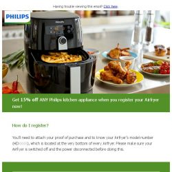 [PHILIPS] Airfryer owners exclusive!