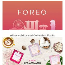 [Foreo] Score one of the new UFO-Activated Masks every week!