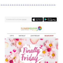 [Floweradvisor] It's Friday Again. It's 10% OFF Sitewide Again!