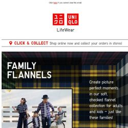 [UNIQLO Singapore] Weekend wins with our Flannel contest and offers!