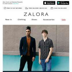 [Zalora] 🙌 EXTRA 25% off High Street Styles!