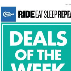 [Chain Reaction Cycles] Deals, Deals, Deals