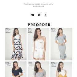 [MDS] NEW DROPS   Launched Online