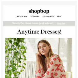 [Shopbop] A dress for all seasons