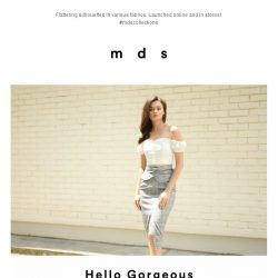 [MDS] Hello Gorgeous   Launched Online and In-Stores