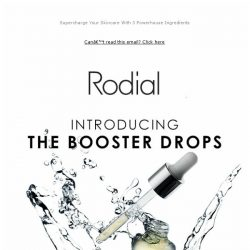 [RODIAL] Just Landed: The Booster Drops Collection
