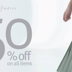 Giordano Ladies: End-Season Sale with 50% OFF All Spring/Summer 2018 Items