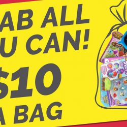 Camtec Kids Specialist: Grab All the Toys You Can at Only $10 a Bag at Isetan Katong & Serangoon Central!