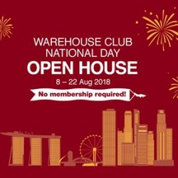 Warehouse Club: Open House with Up to 35% OFF Groceries & Household Items