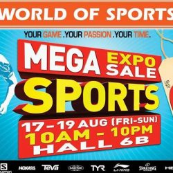 World of Sports: Mega Sports Expo Sale with Up to 90% OFF Sports & Outdoor Equipment, Apparel, Accessories & Shoes