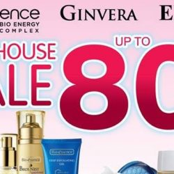 Bio-essence: Warehouse Sale with Up to 80% OFF Bio-essence, Ebene & Ginvera Products
