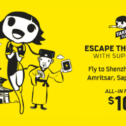 Scoot: Take Off Tuesday Sale to Shenzhen, Gold Coast, Amritsar, Sapporo & More from S$109!