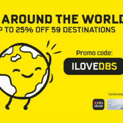 Scoot: Fly to 59 Destinations at Up to 25% OFF with DBS/POSB Cards!