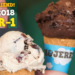 Ben & Jerry's: Bring a Friend to Enjoy 1-for-1 Single Scoop of Ice Cream on 5 Aug!