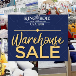King Koil: Warehouse Sale 2018 with Up to 80% OFF Quality Mattresses, Bedding, Furniture & More