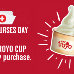 KFC: All Nurses Enjoy FREE Froyo Cup with Any Purchase!