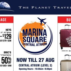 The Planet Traveller: The Largest Travel Fair with Up to 80% OFF Luggage & Travel Accessories