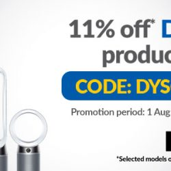 Courts: Enjoy 11% OFF Dyson Products with Coupon Code!