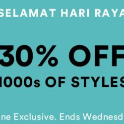 Cotton On: Hari Raya Online Exclusive Sale with 30% OFF 1000s of Styles