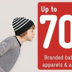 Petit Bateau: Warehouse Sale with Up to 70% OFF Branded Babies & Kids Apparel & Accessories
