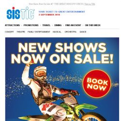 [SISTIC] New Shows Now On Sale – THE GREAT MOSCOW CIRCUS