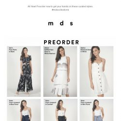 [MDS] What's NEW | Preorder Now