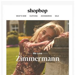 [Shopbop] Zimmermann's Victorian-inspired fall collection