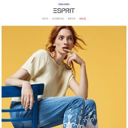 [Esprit] 3 Prettiest colors for Summer