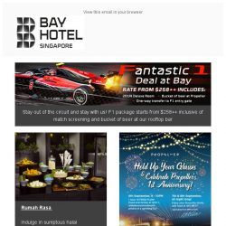 [Bay Hotel] Zoom past September with Bay