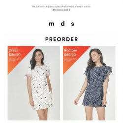 [MDS] Make Room For New! | New Styles Launched Online