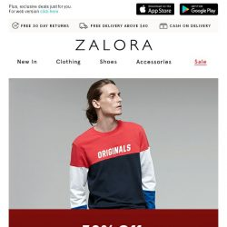 [Zalora] 🎆 9.9 Super Shopping Day: EXTRA 30% off September Selections