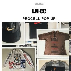 [LN-CC] You're Invited: PROCELL Pop-Up at LN-CC