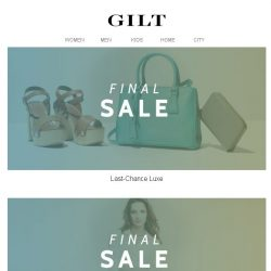 [Gilt] Luxe Final Sale | Up to 75% Off The Big Bedding Event