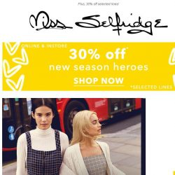 [Miss Selfridge] Cher and Dionne, eat your heart out