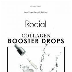 [RODIAL] Drop Everything: 30% Collagen Booster Drops