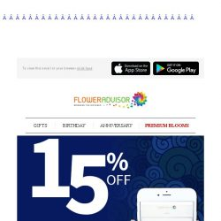 [Floweradvisor] Waiting? Ain't Nobody Got Time For That! Send Flowers With Sameday Delivery Service + 15% OFF!