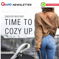 [Qoo10] What you need to cozy up for this weather 🔽