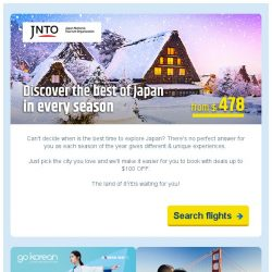 [cheaptickets.sg] 🇯🇵Exclusive Japan travel deals up to $100 OFF & more!