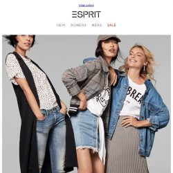 [Esprit] VIP CALL: 30% off for Esprit Friends only!
