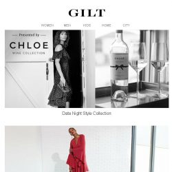 [Gilt] Date Night Style Presented by Chloe Wine Collection