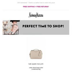 [Neiman Marcus] Now on sale: An item you love!